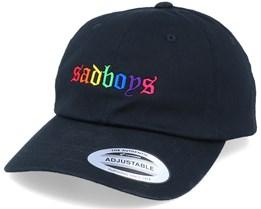 Rainbow Sadboys Black Dad Cap - Iconic