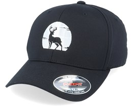 Deer Silhouette Black Flexfit - Hunter
