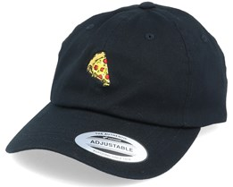 Pizza Slice Of Heaven Organic Dad Cap Black Adjustable - Iconic