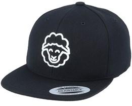 Kids 3D Sheep Black Snapback - Kiddo Cap