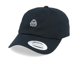 Illuminati Organic Black Dad Cap - Iconic