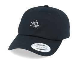 Tiny Swallow Organic Black Dad Cap - Iconic