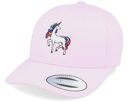 Magnificent Unicorn Curved Pink Adjustable - Unicorns
