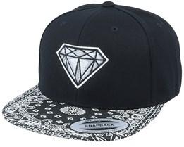 Diamond Gem Black/Paisley Snapback - Iconic