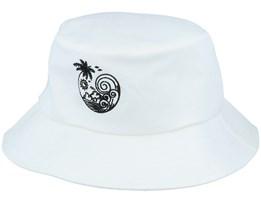 Sunny Waves Beach White Bucket - Iconic