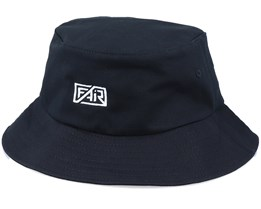 White Logo Black Bucket - Fair