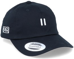 Organic Pause Black Dad Cap Adjustable - Fair