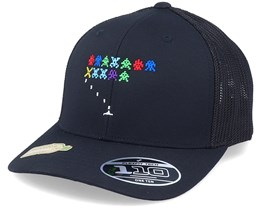 Organic Invasion From Space Black 110 Trucker - Gamerz