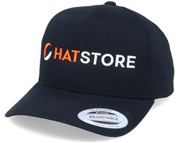 Horizontal Logo A-Frame Black Adjustable - Hatstore