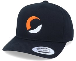 Circle Logo A-Frame Black Adjustable - Hatstore