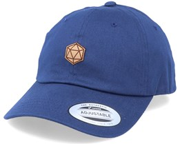 D20 Patch Navy Dad Cap - Gamerz