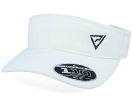 Black Insignia White 110 Visor - Padelville