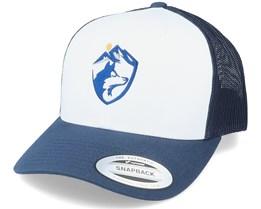 Wolf Mountain Navy/White/Navy Trucker - Wild Spirit