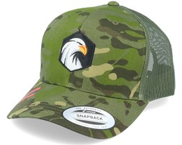 Eagle Hex Tropic Multicam Trucker - Wild Spirit