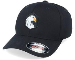 Eagle Hex Black Flexfit - Wild Spirit