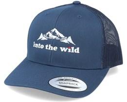 Into The Wild Mountain Navy Trucker - Wild Spirit