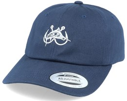 Marlin Hooks Navy Dad Cap - Hunter