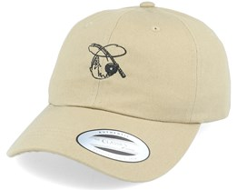 Fly Fishing Khaki Dad Cap - Hunter