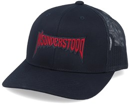 Misunderstood Black Trucker - Hatstore