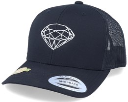 Organic Great Star Diamond Black Trucker - Iconic