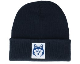 Husky White Patch Navy Cuff - Wild Spirit
