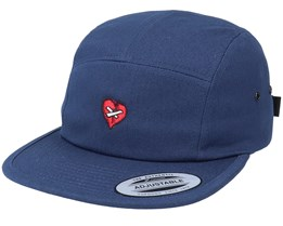 Broken Mended Heart Navy 5-Panel - Iconic