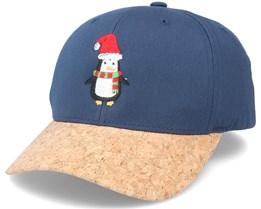 Christmas Penguin Navy/Cork Adjustable - Iconic