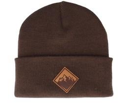 Mountain Patch Brown/Chocolate Beanie - Wild Spirit