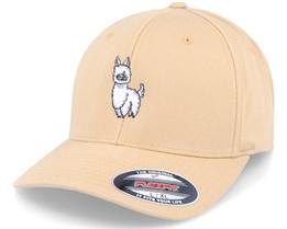 Cute Llama Curry Flexfit - Kiddo Cap