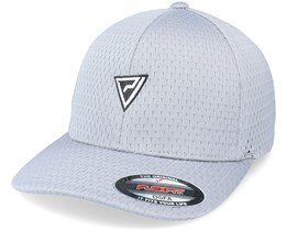 B/W Insignia Athletic Mesh Silver Flexfit - Padelville