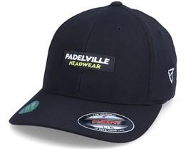 Logo Box Hydro Grid Black Flexfit - Padelville