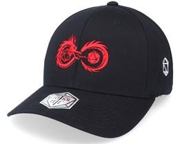 Infinity Dragon Dice Black Flexfit - Critiql Hit