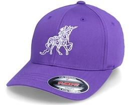 Kids Unicorn Zentangle Purple Flexfit - Unicorns