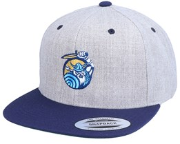 Viking Swordsman Heather Grey/Navy Snapback - Vikings