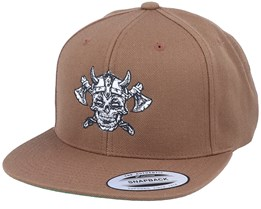 Undead Viking Tan Snapback - Vikings