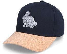 Rabbit Mandala Black/Cork Adjustable - Iconic