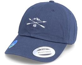 Ecowash Nature Arrow Cross Navy Dad Cap - Wild Spirit