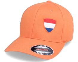 Netherlands Flag Shield Orange Flexfit - Forza
